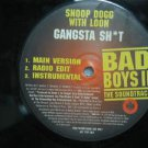 "SNOOP DOG & LOON usa 12"" GANGSTA SH@T Dj WHITE JACKET BADBOY"