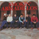 "SMOKIN' ARMADILLOS usa display S/T SELF SAME UNTITLED 12"" X 12"" DOUBLE-SIDED POS"