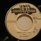 """SLY DUNBAR usa 45 UNMETERED TAXI/VERSION 7"""" Reggae PRESSING BUBBLES ON SURFACE T"""