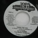 "SLY & ROBBIE FEATURING BERES HAMMOND jamaica 45 THERE FOR YOU 7"" Reggae TAXI"
