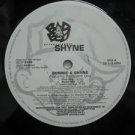 "SHYNE & BARRINGTON LEVY usa 12"" BONNIE & SHYNE Dj WHITE JACKET BADBOY"