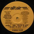 "SCHERRIE PAYNE usa 12"" I'M NOT IN LOVE/GIRL YOU ARE IN LOVE Dj ALTAIR"