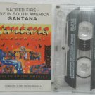 SANTANA peru cassette SACRED FIRE Rock SPANISH PRINT POLYDOR