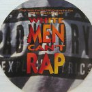 """SAMPLER usa display WHITE MAN CAN'T RAP 12"""" X 12"""" DOUBLE-SIDED POSTER. THIS IS N"""