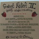 """SAMPLER usa display SWEET RELIEF II 12"""" X 12"""" DOUBLE-SIDED POSTER. THIS IS NOT A"""