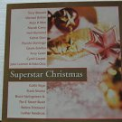 """SAMPLER usa display SUPERSTAR CHRISTMAS 12"""" X 12"""" DOUBLE-SIDED POSTER. THIS IS N"""