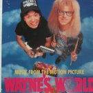 "SAMPLER usa display MUSIC FROM WAYNE'S WORLD 12"" X 12"" DOUBLE-SIDED POSTER. THIS"