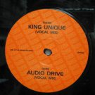 "SAMPLER usa 12"" KING UNIQUE+1 Dj WHITE JACKET ONE-LITTLE-INDIAN"