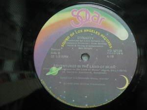 "SAMPLER usa 12"" ADVENTURES IN THE LAND OF MUSIC+1 Dj WHITE JACKET SOLAR"