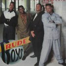 "RUDE BOYS usa display AWAKENING 12"" X 12"" DOUBLE-SIDED POSTER. THIS IS NOT AN LP"