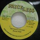 "ROUND HEAD jamaica 45 MOTHER'S CRYING 7"" Reggae PRICELESS"