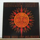 "ROLLINS BAND usa display THE END OF SILENCE 12"" X 12"" DOUBLE-SIDED POSTER. THIS"