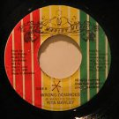 "RITA MARLEY jamaica 45 WHO COLT THE GAME/WRONG DOMINOES 7"" Reggae RMM"