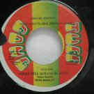 "RITA MARLEY jamaica 45 THERE WILL ALWAYS BE MUSIC 7"" Reggae TUFF-GANG"