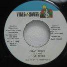 "LIEUTENANT STICHIE jamaica 45 CHAT BOUT 7"" Reggae VIBES-HOUSE"