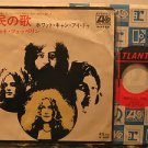 """LED ZEPPELIN japan 45 IMMIGRANT SONG 7"""" Rock PICTURE SLEEVE ATLANTIC"""