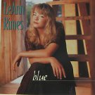 """LEANN RIMES usa display BLUE Country 12"""" X 12"""" DOUBLE-SIDED POSTER. THIS IS NOT"""