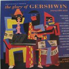 "LARRY ADLER usa display THE GLORY OF GERSHWIN 12"" X 12"" DOUBLE-SIDED POSTER. THI"