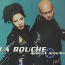 """LA BOUCHE usa display SWEET DREAMS 12"""" X 12"""" DOUBLE-SIDED POSTER. THIS IS NOT AN"""