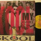 """KOOL SKOOL usa 12"""" MY GIRL Dj PUNCHED HOLE CAPITOL excellent"""