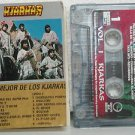 KJARKAS peru cassette LO MEJOR DE Rock SPANISH PRINT GEFFEN excellent