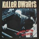 "KILLER DWARFS usa display METHOD TO THE MADNESS 12"" X 12"" DOUBLE-SIDED POSTER. T"