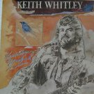 """KEITH WHITLEY usa display KENTUCKY BLUEBIRD 12"""" X 12"""" DOUBLE-SIDED POSTER. THIS"""