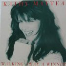"KATHY MATTEA usa display WALKING AWAY A WINNER Country 12"" X 12"" DOUBLE-SIDED PO"