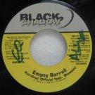 "KARDINAL OFFICIAL FEAT. BLESSED jamaica 45 EMPTY BARRELL 7"" Reggae BLACK-SHADOW"