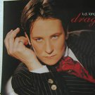 """K.D.LANG usa display DRAG 12"""" X 12"""" DOUBLE-SIDED POSTER. THIS IS NOT AN LP OR CD"""