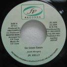 """JR. KELLY jamaica 45 GO DOWN SATAN 7"""" Reggae F.P-2"""