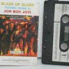 JON BON JOVI peru cassette BLAZE OF GLORY Rock SPANISH PRINT VERTIGO