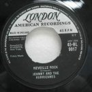"JOHNNY AND THE HURRICANES jamaica 45 REVEILLE ROCK 7"" Reggae LONDON-AMERICAN"
