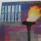 "JOHN WILLIAMS usa display SUMMON THE HEROES 12"" X 12"" DOUBLE-SIDED POSTER. THIS"