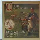 """JOHN WHELAN usa display CELTIC CROSSROADS 12"""" X 12"""" DOUBLE-SIDED POSTER. THIS IS"""