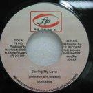 """JOHN HOLT jamaica 45 SAVING MY LOVE 7"""" Reggae FP-RECORDS"""