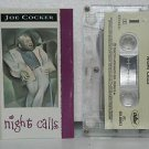 JOE COCKER peru cassette NIGHT CALLS Rock SPANISH PRINT CAPITOL excellent