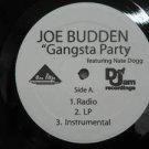 "JOE BUDDEN & NATE DOGG usa 12"" GANGSTA PARTY Dj WHITE JACKET DEF JAM"
