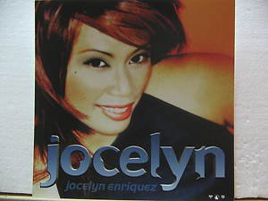 """JOCELYN ENRIQUEZ usa display S/T SELF SAME UNTITLED 12"""" X 12"""" DOUBLE-SIDED POSTE"""