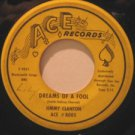 """JIMMY CLANTON usa 45 DREAMS OF A FOOL/DARKEST STREET IN TOWN 7"""" Vocal SMALL WRIT"""