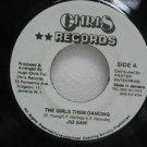 "JIG SAW jamaica 45 THE GIRLS THEM DANCING 7"" Reggae CHRIS-RECORDS"