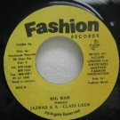 "JAZWAD & A CLASS CREW jamaica 45 WIG WAM 7"" Reggae FASHION"