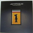"""JAMMIROQUAI usa display TRAVELING WITHOUT MOVING 12"""" X 12"""" DOUBLE-SIDED POSTER."""