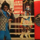 "JAMES BROWN mexico 12"" LIVING IN AMERICA Soul RED VINYL EPIC excellent"
