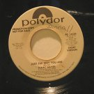 """ISAAC HAYES usa 45 JUST THE WAY YOU ARE 7"""" Soul PROMO/WHITE LABEL/SMALL WRITING"""