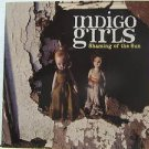 """INDIGO GIRLS usa display SHAMING OF THE SUNG 12"""" X 12"""" DOUBLE-SIDED POSTER. THIS"""