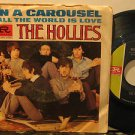 "HOLLIES usa 45 ON A CAROUSEL 7"" Rock PICTURE SLEEVE IMPERIAL"