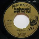 "HEPTONES usa 45 I MISS YOU 7"" Reggae ASHANTI"