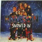 "HANSON usa display SNOWED IN Pop 12"" X 12"" DOUBLE-SIDED POSTER. THIS IS NOT AN L"