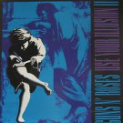"""GUNS N' ROSES usa display USE YOUR ILLUSION II Rock 12"""" X 12"""" DOUBLE-SIDED POSTE"""